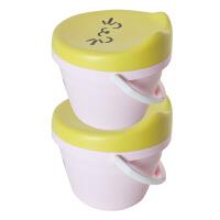 儿童玩具收纳凳带盖储物凳卡通换鞋凳多功能带提手水桶凳 8L 3080