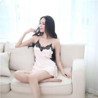 性感女士情趣内衣丝滑激情套装诱惑sm蕾丝透视装制服睡衣服 均码