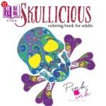 【中商海外直订】Skullicious Coloring Book for Adults