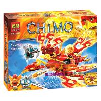 欢乐童年-兼容乐高式 气功传奇凤凰王子的ZJ凤凰10351 儿童益智积木