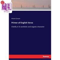【中商海外直订】Primer of English Verse
