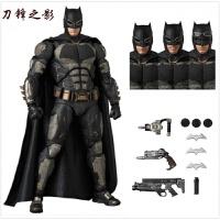 国产正义联盟MAFEX人闪电侠蝙蝠侠蜘蛛侠神奇女侠人偶模型 MAFEX 064战术蝙蝠侠 高约16厘米