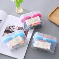 针线盒 高档针线盒套装家用便携手缝衣服小针线包针线收纳盒整理箱