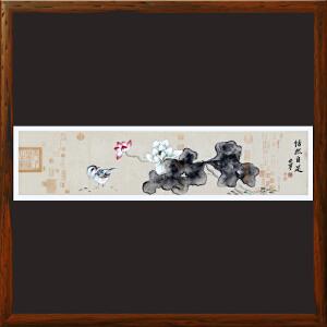 《怡然自足》R5234 安宁 名家真迹国画