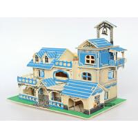 diy小屋女孩玩具手工制作拼装玩具房屋模型14岁以上木头房子别墅