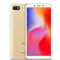 Xiaomi/小米 红米6A智能AI人脸解锁全面屏老人学生拍照手机 全网通 双卡双待双4G 2GB+16GB流沙金