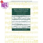 【中商海外直订】Music Analysis in the Nineteenth Century: Volume 1,