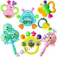 手摇铃儿0-1岁婴儿玩具3-6个月女小孩子2到4男孩5至8
