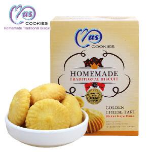 马来西亚进口 麦阿思奶酪夹心松脆曲奇饼干 110g