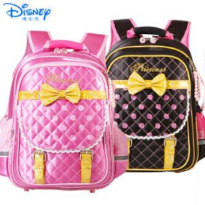 迪士尼公主女孩小学生儿童双肩背包太空护脊减负卡通书包