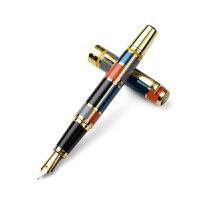 正品HERO英雄钢笔767纯黑/彩色铱金笔 钢笔 墨水笔 精致礼盒 商务礼品