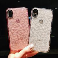 网红同款ins风超火简约苹果x手机壳透明8plus硅胶软壳6splus超薄iPhone6全包防摔防刮
