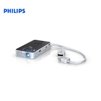 Philips飞利浦 微型投影机 LED投影仪 PPX4350 WIFI口袋手持