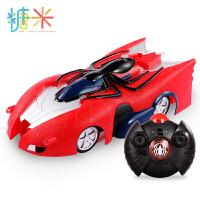 漫威正版蜘蛛侠可充电儿童遥控汽车爬墙吸墙车玩具车男孩3-6-9岁