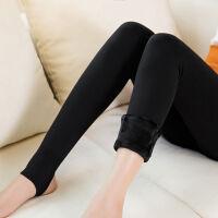 320-520克冬季加绒加厚打底裤护腰女士一体踩脚高腰保暖裤显瘦