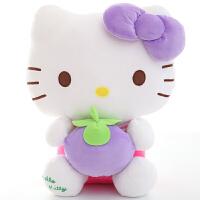 hellokitty 毛绒玩具 正版hello kitty公仔凯蒂猫哈喽KT娃娃毛绒玩偶玩具生日礼物