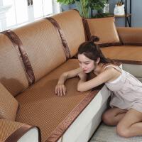 夏季凉席垫客厅欧式布艺防滑沙发套罩巾