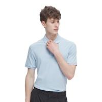 【限时直降】 男式超柔凉爽长绒棉POLO衫