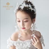 儿童发饰套装头花花环发带韩式公主百搭甜美婚纱饰品演出