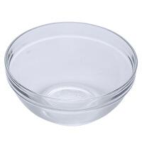 家用透明玻璃碗学生水果沙拉碗大号耐热汤碗小饭碗创意吃饭泡面碗
