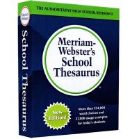 【全店满300减100】韦氏学生同义词辞典 英文原版 Merriam-Webster's School Thesauru
