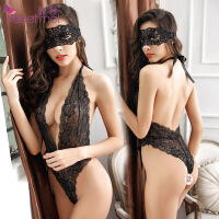 性感情趣内衣smsao激情套装女透视透明蕾丝连体衣夜火小胸制服套装 均码