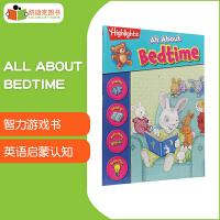 【99选5】凯迪克美国进口 Highlights游戏书 All About Bedtime 【平装】