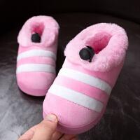 儿童棉拖鞋可爱冬天宝宝棉鞋包跟1-3岁婴幼儿软底男孩女孩