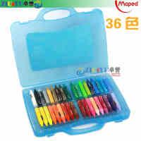 满99包邮 Maped马培德36色油画棒 儿童油画棒 儿童画笔 塑料手提盒装864014