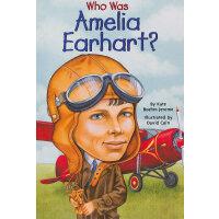 Who Was Amelia Earhart? 漫画名人传记:阿梅莉亚�q埃尔哈特 ISBN9780448428567