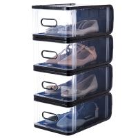 透明抽屉式鞋盒整理箱宿舍鞋架鞋柜家用鞋子收纳盒