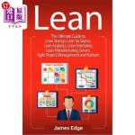 【中商海外直订】Lean: The Ultimate Guide to Lean Startup, Lean Six