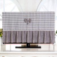 液晶曲面电视机罩子套55英寸防尘罩21寸至65寸壁挂挂式电视布盖布家居日用