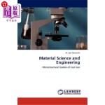 【中商海外直订】Material Science and Engineering