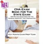 【中商海外直订】CNA Exam Book for The State Exam: 1000 Review Quest