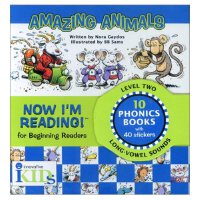 Now I'm Reading!Level 2: Amazing Animals 我的第一套自然拼读故事书-第2级:奇