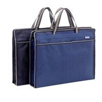 可定制logo 贝多美085双层拉链袋 手提文件袋 商务会议公文包 会议袋 单个装