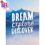 【中商海外直订】Dream. Explore. Discover.: Inspiring Quotes to Spar