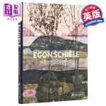 【中商原版】埃贡・席勒:景观 英文原版 EGON SCHIELE: LANDSCAPES 席勒的的风景画集
