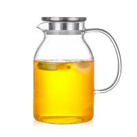 家用冷水壶高硼硅耐热耐高温玻璃凉白开大容量壶煮牛奶茶泡花茶壶