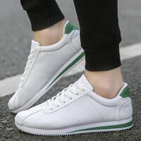春季小白鞋韩版潮流男士运动休闲鞋潮鞋板鞋秋季白色阿甘鞋男鞋子