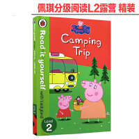 小猪佩奇分级阅读 英文原版 Peppa Pig: Camping Trip - Read it yourself wi