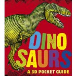 英文原版 小开本全景立体书:恐龙 Dinosaurs: A 3D Pocket Guide