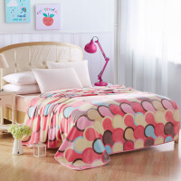 春秋季空调毯珊瑚绒毯子冬天加厚法兰绒毛毯床单午睡单人双人毯子