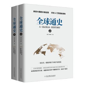 全球通史套装(上下)解读我们这个星球的兴衰起落,历史入门五星级读物