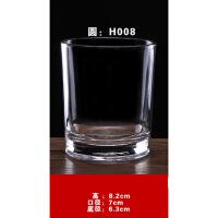 �e�^酒店�S�A形玻璃漱口杯茶具套�b酒杯家用�化杯子 6只�b特�r 透明