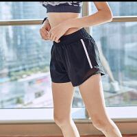夏季薄款运动短裤女宽松跑步训练健身房防走光速干外穿瑜伽热裤女