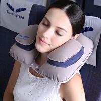 u型枕充气飞机旅行枕护颈枕午睡汽车用女男u形枕脖子睡觉枕头