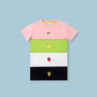 【99选3】【香味T恤】巴拉巴拉旗下 巴帝巴帝儿童短袖T恤水果香气男女童2019夏装新款