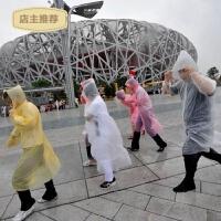 雨衣一次性加厚连帽雨披旅行便携汽车漂流登山男女雨披SN7732
